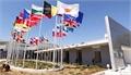 Nicosia International Conference Center Flags