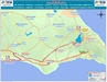 701 Bus Route Map - OSEA Buses, Famagusta