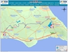702 Bus Route Map - OSEA Buses, Famagusta
