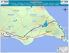 703 Bus Route Map - OSEA Buses, Famagusta