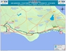 704 Bus Route Map - OSEA Buses, Famagusta